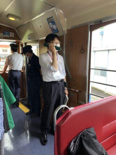 会津鉄道石田さんによる案内